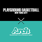 Arch  withPLAYGROUND BASKETBALL NEWYORK CITY