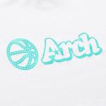 アーチ ドライTシャツ ボールロゴ ホワイト 3