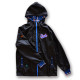 アーチ フーディジャケット タータンチェック ブラック 1