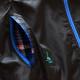 アーチ フーディジャケット タータンチェック ブラック 3