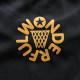 アーチ ドライTシャツ ボールロゴ ブラック 4