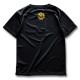 アーチ ドライTシャツ キッズ ボールロゴ ブラック 2