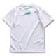 アーチ ドライTシャツ キッズ ボールロゴ ホワイト 2