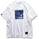 アーチ Tシャツ イカット ホワイト 1
