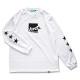 boxlogo longsleeve T-shirts Arch white 1