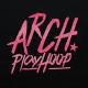 brushlettered T-shirts Arch black 3