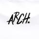 brushlettered T-shirts Arch white 4