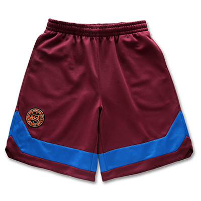 classic line shorts Arch burgundy 1