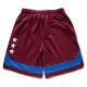 classic line shorts Arch burgundy 2