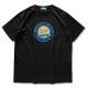 round cursive T-shirts Arch black 1