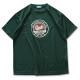 round cursive T-shirts Arch green 1