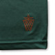 round cursive T-shirts Arch green 4