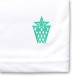 round cursive T-shirts Arch white 4