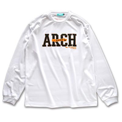 stitchlogo longsleeveT -shirts Arch white 1