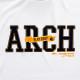 stitchlogo longsleeveT -shirts Arch white 3