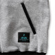 stitch logo sweatjacket Arch gray 4