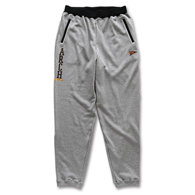 stitch logo sweatpants Arch gray 1