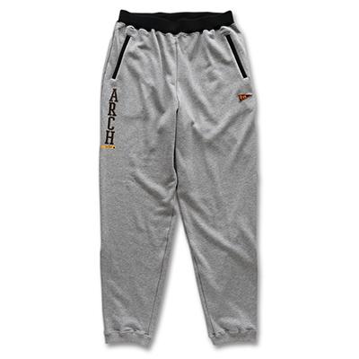 stitch logo sweatpants Arch gray 1