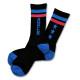 Triplestar mid socks Arch black blue 1