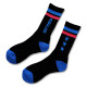 Triplestar mid socks Arch black blue 2