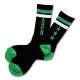 Triplestar mid socks Arch black green 1