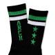 Triplestar mid socks Arch black green  3