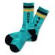 Triplestar mid socks Arch mint black 1