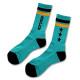Triplestar mid socks Arch mint black 2