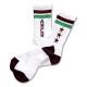 Triplestar mid socks Arch white brown 1