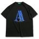 チョコミント アーチ Tシャツ ブラック 1