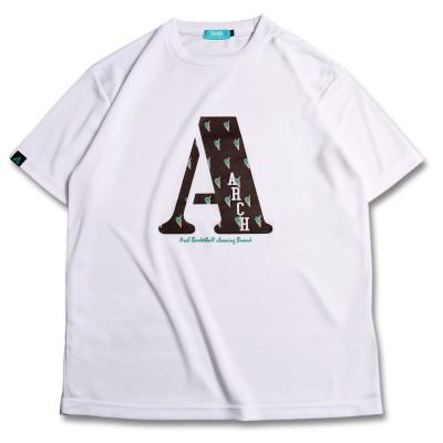 チョコミント アーチ Tシャツ ホワイト 1