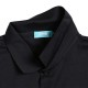 カレジエイトロゴ アーチ ポロシャツ ブラック 4