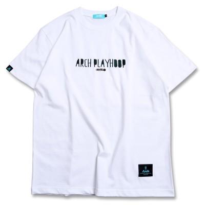 ラフレタード アーチ Tシャツ ホワイト 1